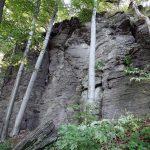 Hrad Bodoň - lezecká stena